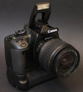 CanonDigitalRebelXTiWithBatteryGrip