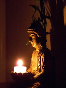 Candlelight Buddha