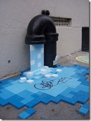 Pixelated Water