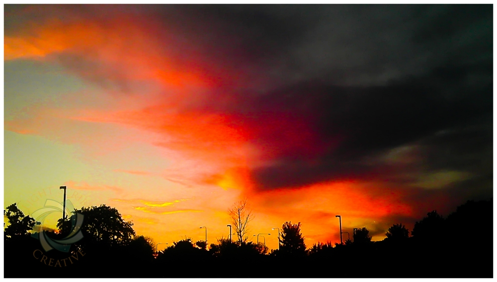 Mobile Moments: Fire in the Sky