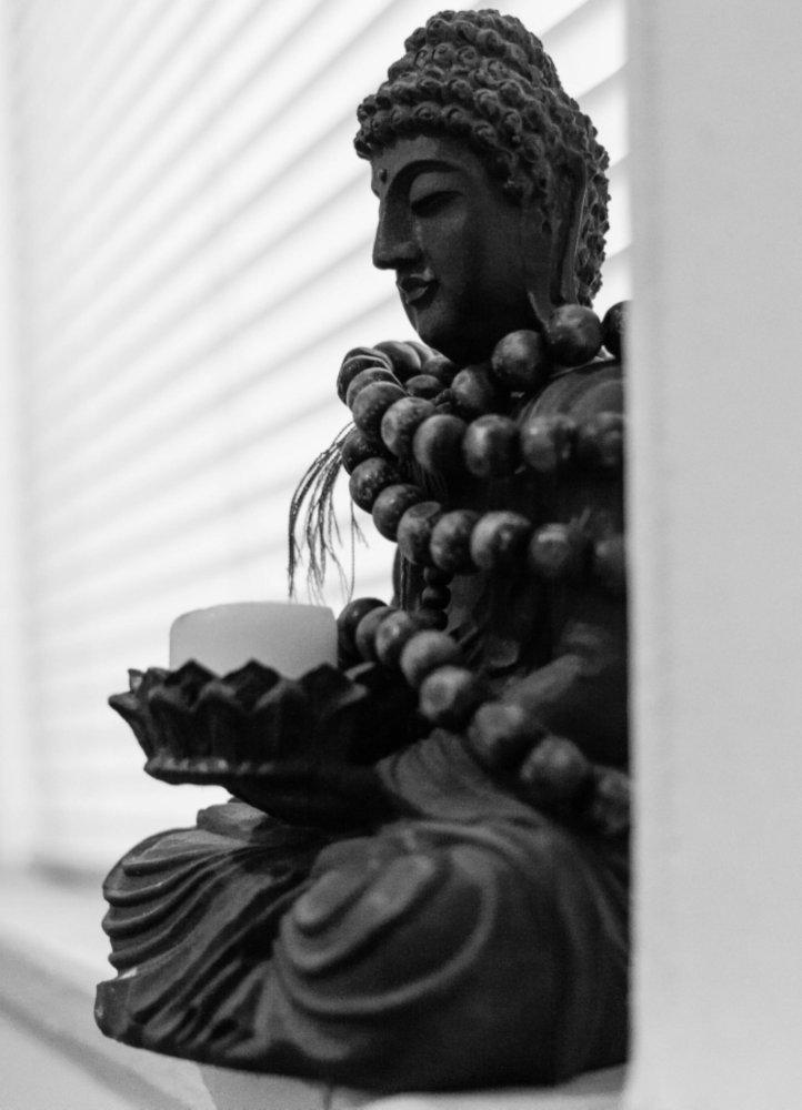 Buddha in My Window